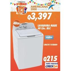 LAVADORA MABE 40LBS BLC