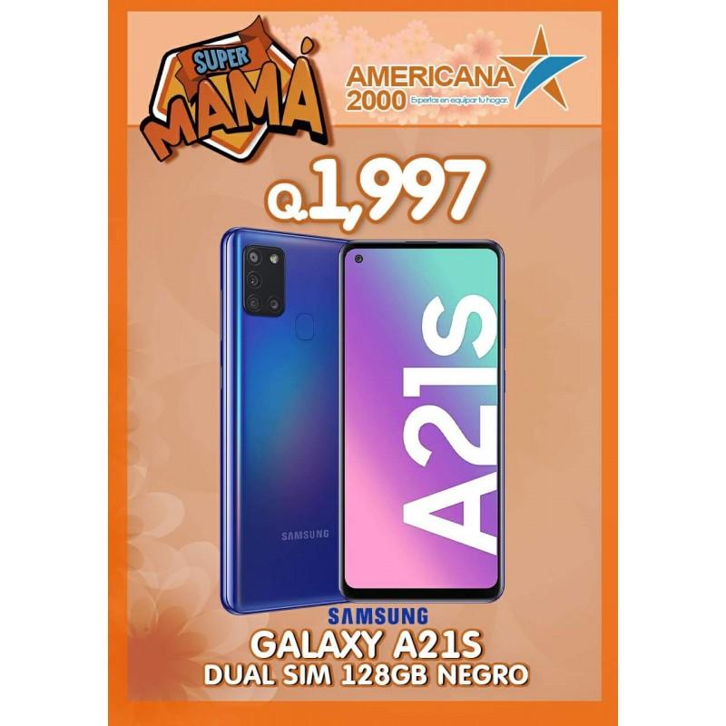 GALAXY A21S SUAL SIM 128GB NEGRO