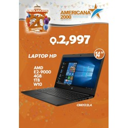 LAPTOP HP AMD E2-9000 4GB 1TB W10