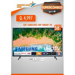 """TV LED SAMSUNG 58"""" SMART 4K"""