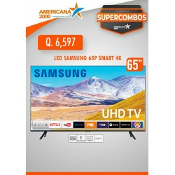 """TV LED SAMSUNG 65"""" SMART 4K"""