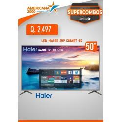 """TV LED HAIER 50"""" SMART 4K"""