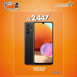 GLAXY A32 DS 128 GB NEGRO