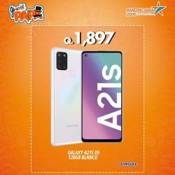 GALAXY A21S DS 128GB BLANCO