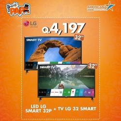 """COMBO TV LED LG SMART 32"""" + TV LG 32 SMART"""