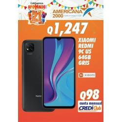 XIAOMI REDMI 9C US 64GB GRIS